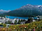 St. Moritz é o resort de montanha mais glamoroso do mundo.