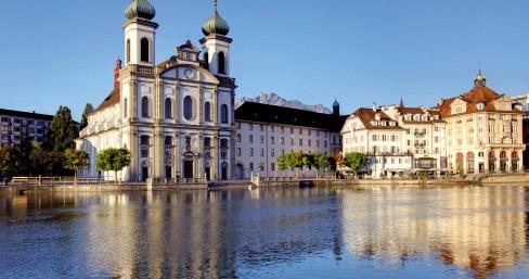 Die Jesuitenkirche in Luzern  Jesuit Church, Lucerne